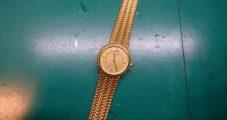 時計修理 セイコー クレドール K18ケース 電池交換