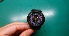 時計修理 カシオ G-SHOCK デジアナ 電池交換