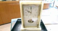 クロック修理 シチズン 回転飾り付き置時計 ムーブ交換