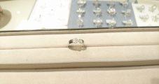 ジュエリー修理 K18WGダイヤリング 欠け・ヒビ・サイズ伸ばし・ロジウムメッキ 修理
