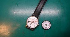 時計修理 MONDAINE ウォッチ 分解掃除/ムーブ交換