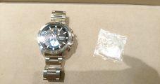時計修理 セイコークロノグラフ ガラス交換修理