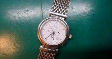 時計修理 IWC クロノグラフ 電池交換修理