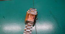 時計修理 ショパール ハッピーダイヤモンド 電池交換修理